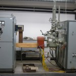 Leybold-Heraus vaccum-induction furnace