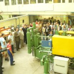 Investiture of the pressure die casting machine