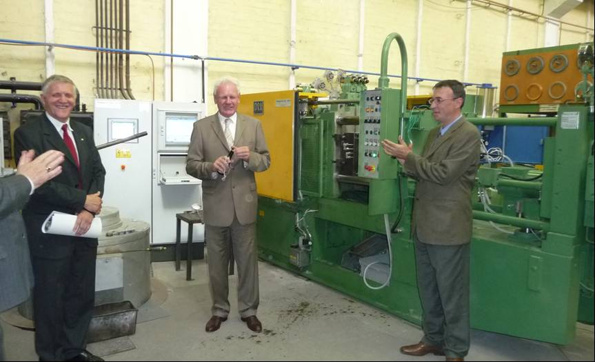 Casting equipment | Institute of Metallurgical and Foundry