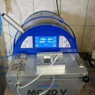 Indutherm MC-20V vákuumindukciós kemence + öntőgép