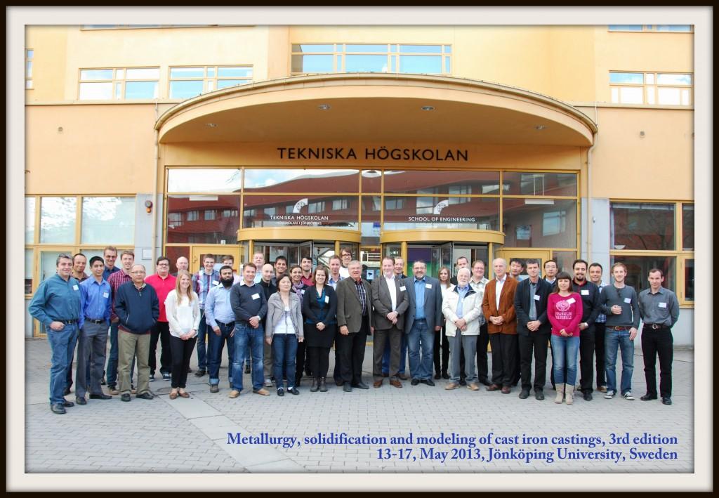 Öntészeti kurzus a svédországi Jönköping egyetemen.
