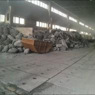 Alu-Block- Meleg üzemi feldolgozásra váró salak