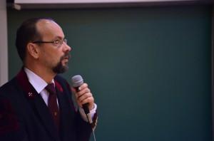 Prof. Dr. Palotás Árpád dékán úr megnyitja a rendezvényt.